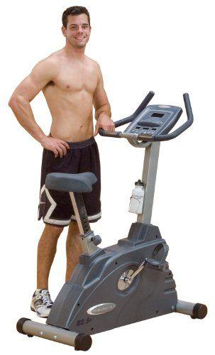 Endurance B2.5U Electronic Upright Exercise Bike - http://www.healthymagpa.com/endurance-b2-5u-electronic-upright-exercise-bike/
