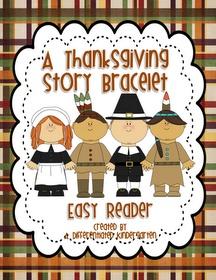 A Differentiated Kindergarten: Just a little fun Thanksgiving Story Bracelet Freebie.