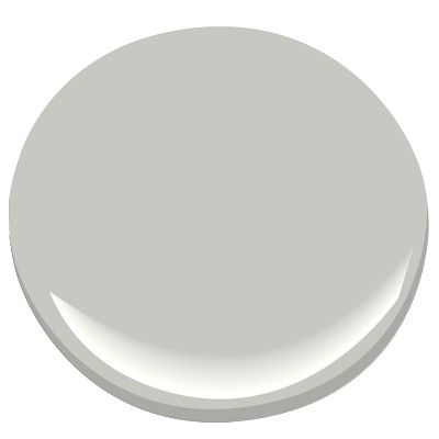 Harbor Gray by Benjamin Moore - the perfect neutral gray
