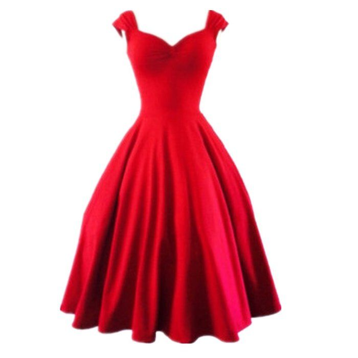Top One Damen Pin Up Petticoat Rockabilly Kleid 50er Neu XS S M L XL