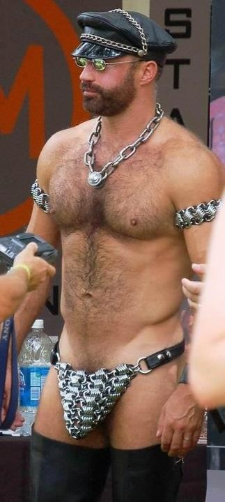 from Aidan bear gay leather male