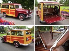 1951 Willys Overland Wagon For Sale