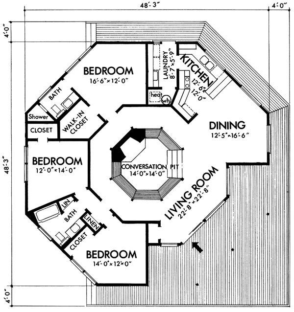 132 best Projet maison images on Pinterest House template, Floor