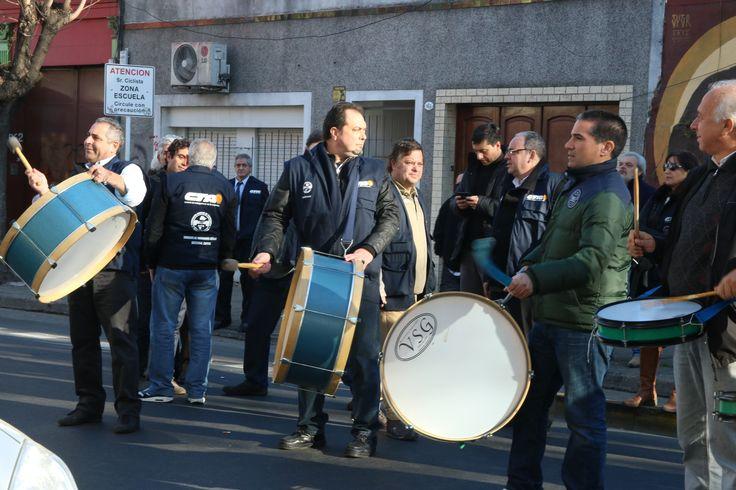 Manifestación el Laboratorios Omega - Casa Rubio