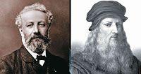 JULES VERNE,LA ASTRONOMIA Y LA LITERATURA: Julio Verne, Da Vinci y Nantes en un solo proyecto...