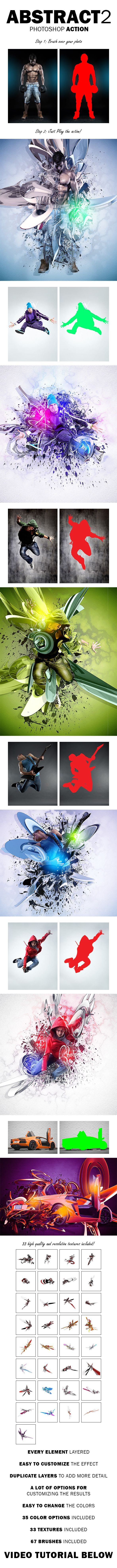 307 best photoshop actions images on pinterest photoshop actions abstract 2 photoshop action baditri Image collections