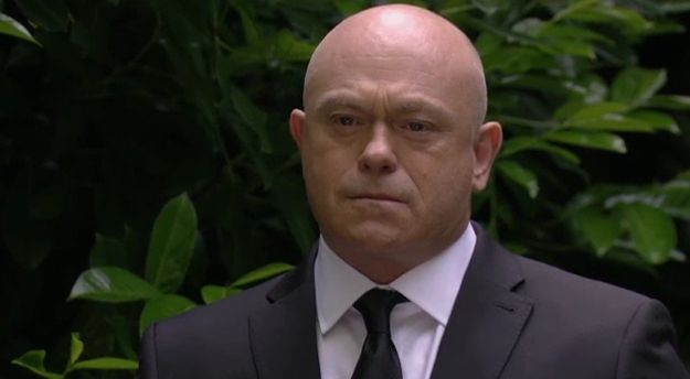 EastEnders: Grant makes a surprise appearance at Peggy Mitchell's funeral