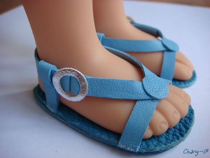 Sandales turquoises (9):