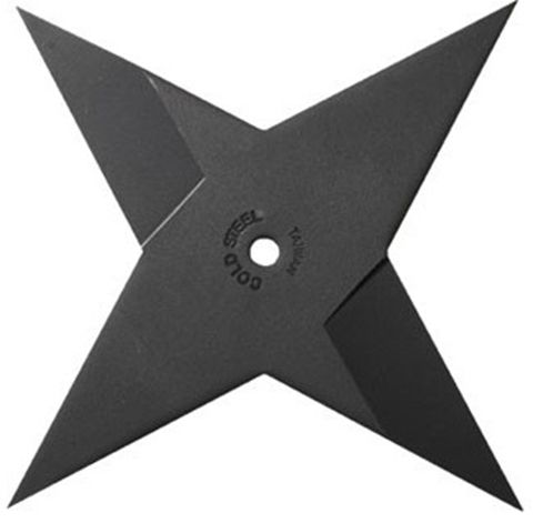 Cold Steel Sure Strike Medium Ninja Throwing Star For Sale | AllNinjaGear.com: Largest Selection of Ninja Weapons | Throwing Stars | Nunchucks