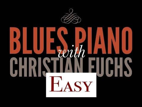 The Slowslow Blues with no no fast notes, Blues Piano Lesson - YouTube