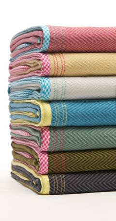 "Cornwall Collection Baby Blankets (50"" x 50""). 65% unbleached cotton, 35% lyocell. Colored with low-impact, baby-friendly dyes. Machine washable. Made with love in the USA. $58. via Petites Frites  #storkstack"