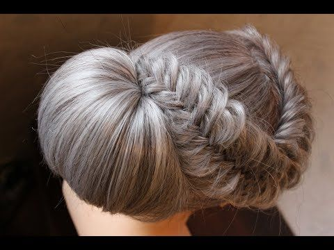 peinados recogidos faciles para cabello largo ♥ women's hairstyles - YouTube