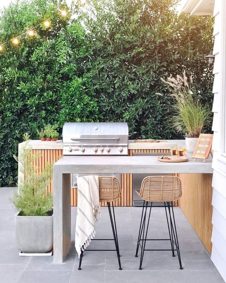 Contemporary Outdoor Kitchen And Bar Ideas