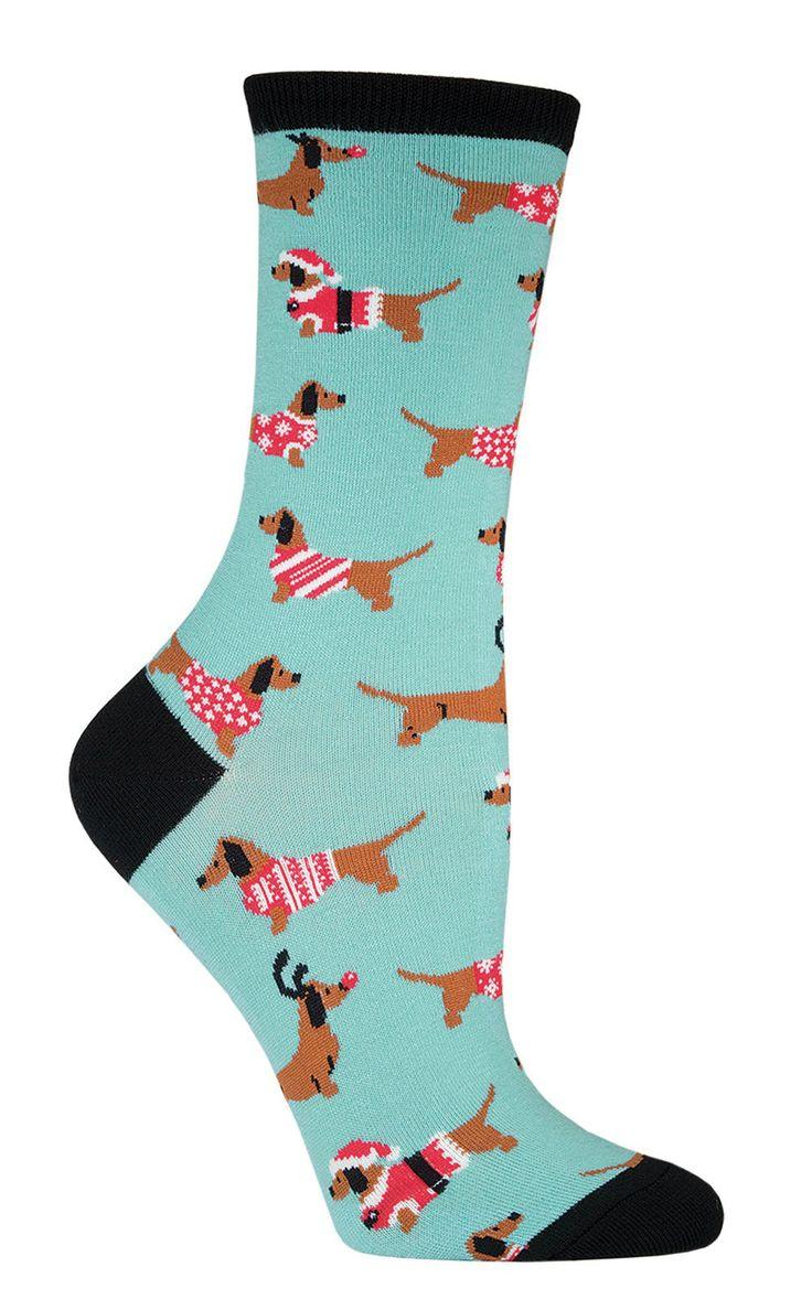 Christmas Haute Dog Socks | Womens - Best 10+ Dog Socks Ideas On Pinterest Cute Rain Boots, Cute Dog