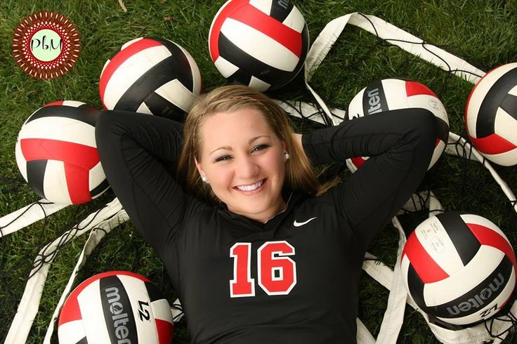 Senior pictures: volleyball