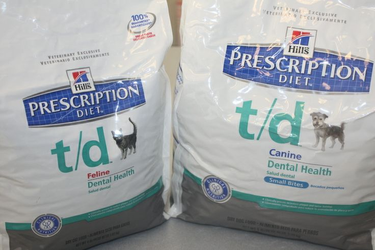 Hills Prescription Diet T/d is an excellent dental diet that we recommend to help keep pet's teeth clean. #AnimalHospital #Veterinarian #Pets #KAH #FrederickMaryland #KingsbrookAnimalHospital #Vet #Dentistry #PetDentalHealth #OralCare #Hill's #PrescriptionDiet #T/d