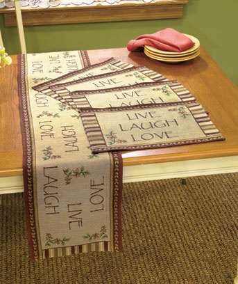 Awesome Live Laugh Love Kitchen Coordinates Curtains Or Table Settings Live Laugh  Love Kitchen Coordinates Curtains Or