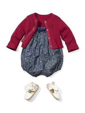 Baby Clothing: Baby Girl Clothing: Outfits New: Americana | Gap This little outfit is so sweet