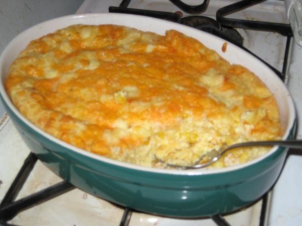 Jiffy Scalloped Corn Casserole Recipe - use 1 pkg of cream cheese instead of sour cream!