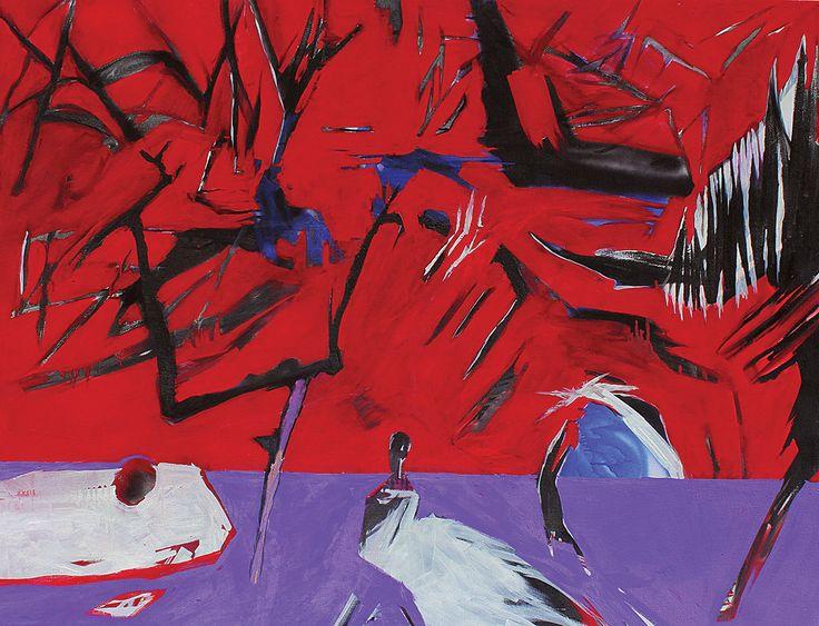 Apple 130x100 cm oil on canvas