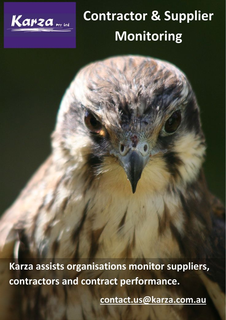 Karza assists organisations monitor suppliers, contractors and contract performance.