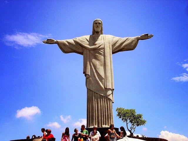 Enorme monumenten: Christus de Verlosser (Brazilië) - Cristo Redentor.