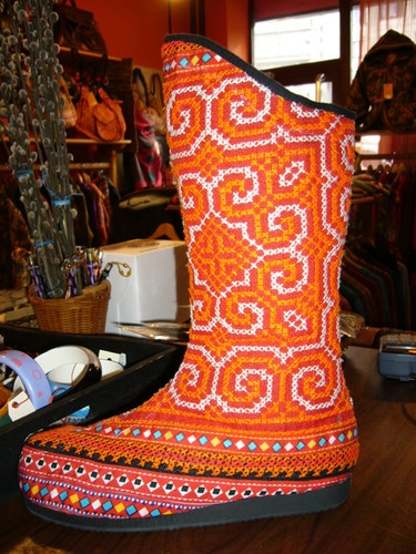 Hmong Boots