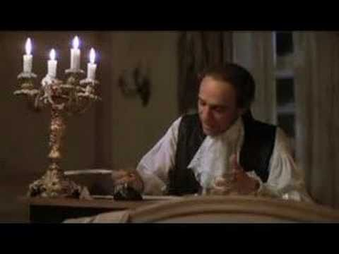Confutatis in Mozart's Requiem, a scene in Amadeus: I know the notes very well, watched this many times, still it really gets to me every time!