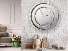 Reloj Redondo con Lunas de Espejo : Modelo LLUVIA