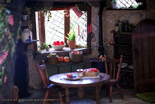 In the Court of the Gypsies: kitchen
