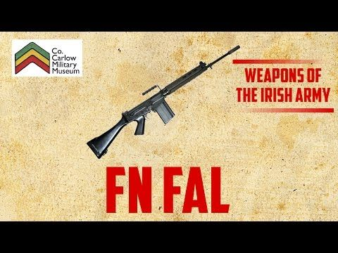Weapons of the Irish Army ep5 - Steyr AUG - YouTube