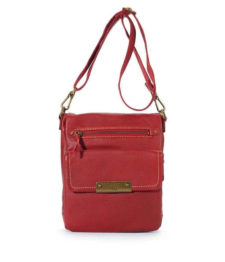 parker leather flap messenger - le sak: Sak Purse