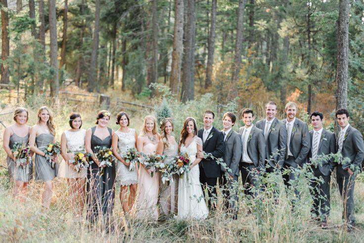 Slightly darker groom suit!  Classic Flathead Lake Montana Wedding     Read more - http://www.stylemepretty.com/2014/03/14/classic-flathead-lake-montana-wedding/