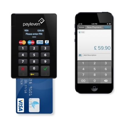 Payleven Chip and Pin Card Reader for iOS Devices - Apple Store (UK) - Price for 2.75% per transaction at Payleven - http://couponcodeshub.com/store/payleven/