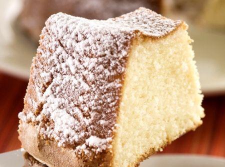 Receita de Bolo de Cerveja - 1 1/2 xícara (chá) de açúcar, 1/2 xícara (chá) de manteiga, 3 ovos, 1/2 xícara (chá) de cerveja, 1 1/2 xícara (chá) de farinha de trigo, 1 colher (chá) de fermento em pó, açúcar de confeiteiro a gosto