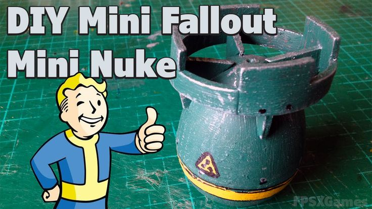 Fallout  Mini Nuke Crafting