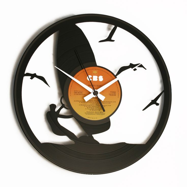 Disc'O'Clock Ceas de perete Wind