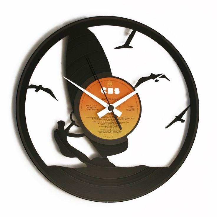 Disc'O'Clock Ceas de perete Wind