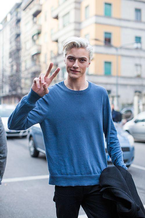 Les street looks des mannequins de la Fashion Week homme automne-hiver 2015-2016 55