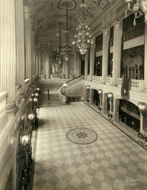 Entrance foyer of the St. Louis Theater at 718 North Grand Avenue. (1920 to 1929)