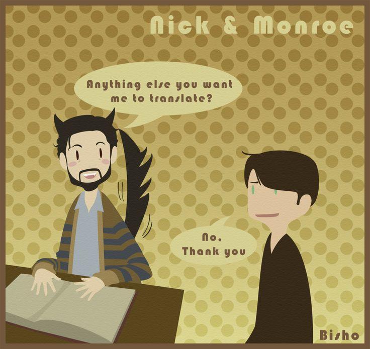 Grimm - Nick + Monroe - Lovely Blutbad by ~Bisho-s on deviantART