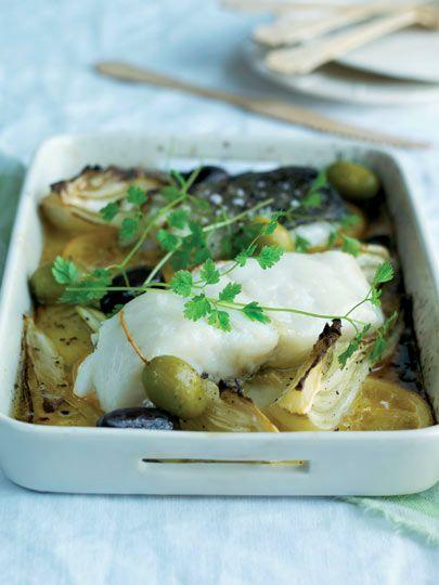 Fırında rezeneli balık Tarifi - Türk Mutfağı Yemekleri - Yemek Tarifleri