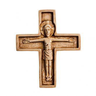 Crocifisso pietra avorio Bethléem Monastero | vendita online su HOLYART