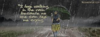 I Love Walking in the Rain Fb Cover