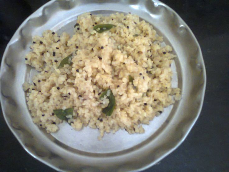 Broken Wheat Recipes with difference -  A healthy dish known as Upma