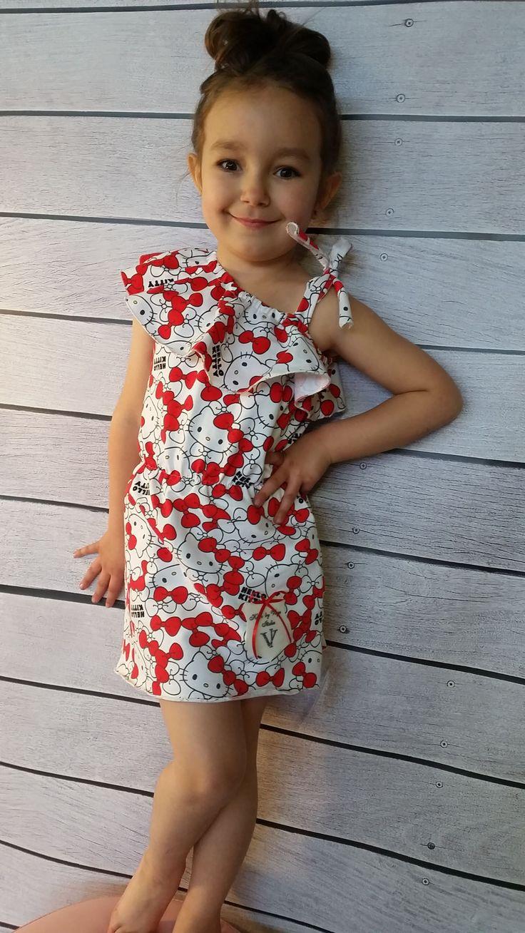 Sukienka Voga Kitty-dziewczynka