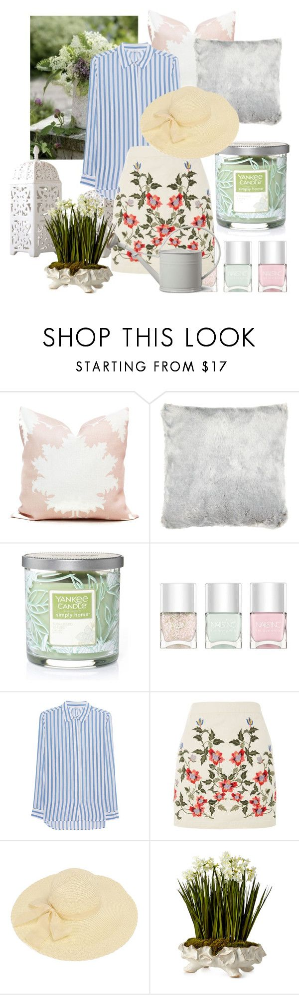 """Untitled #6"" by sziszisch ❤ liked on Polyvore featuring John Lewis, Yankee Candle, Nails Inc., iHeart, Topshop and John-Richard"