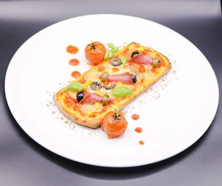 Pizza salami   CHEFSbook