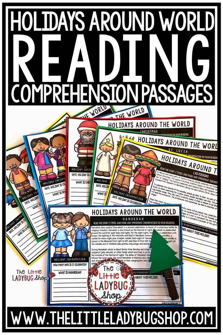 Winter Holidays Around The World Reading Comprehension Passages Thankful2019 Reading Comprehension Passages Reading Comprehension Comprehension Passage [ 1104 x 736 Pixel ]