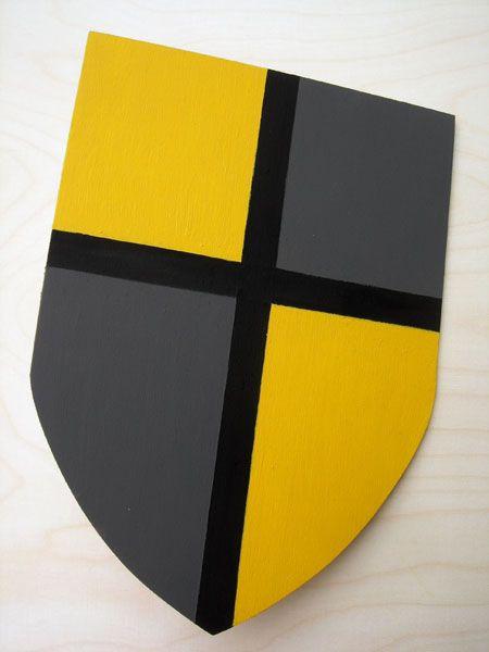 Tolles Schild aus Holz für kleine Ritter zum Selberbasteln. Bastelset auch super für Kindergeburtstage geeignet.